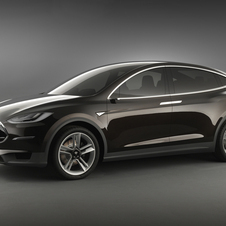 The Model X is a crossover that uses the platform from the Model S