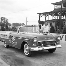 Chevrolet Bel Air Convertible Indianapolis 500 Pace Car