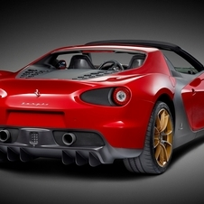 The car is based on the 458 Spider