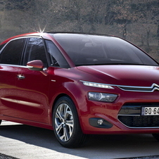 The latest C4 Picasso has LED running lights and chunkier styling