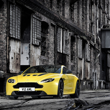 The V12 Vantage S is the fastest Aston Martin other than the One-77