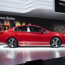 Both variants of the new Impreza are larger than the previous generation