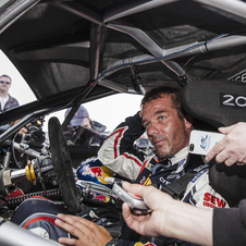 Loeb unfortunately will not be driving the car at Goodwood