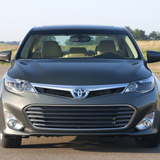 The new Avalon more narrow with a wider track than the old car