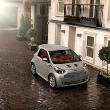 Aston Martin created the Cygnet to drop its average fuel economy
