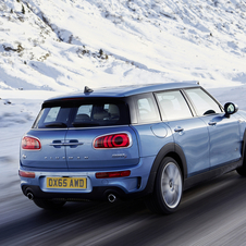 The Clubman Cooper SD is fitted with a 2.0-liter diesel engine with 190hp and 400Nm of torque