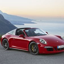 Pela primeira vez, o 911 combina aFor the first time, the 911 combines the idea of GTS with the classic targa concept to mark the 50th anniversary of