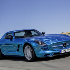 The SLS AMG Electric Drive is the most power vehicle in the range