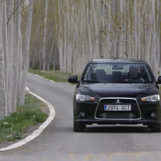Mitsubishi Lancer Sport Black Edition 1.8 DI-D ClearTec Invite