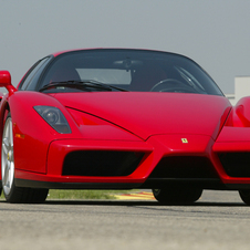 The Enzo had a 651hp V12 and cost $850,000