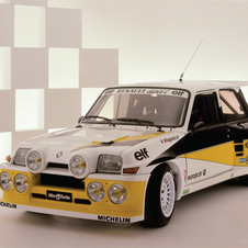 The R5 Turbo rally car is not rare but quite famous