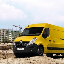Renault Master Chassis Cabina Simples Propulsão L3 3.5T 2.3 dCi Rodado Duplo