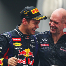 Newey joined Red Bull in 2005