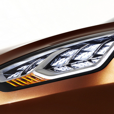 The concept packs modern features like LED headlights