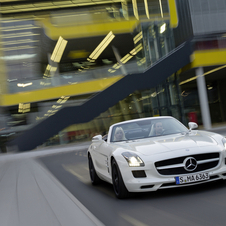 The smaller SLS is planned as a coupe and convertible