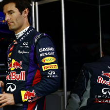 Webber is moving on from Formula 1 after racing there since 2002