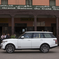 Land Rover has numerically higher sales but slower growth