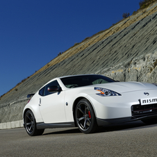 The 370Z Nismo gets some cosmetic upgrades as well