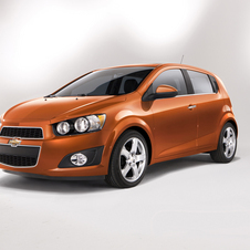 Chevrolet Sonic 1.4L turbocharged DOHC I-4