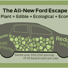 Ford Using Kenaf Plant to Build New Escape's Doors