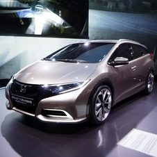 The Civic Tourer will get a production debut in Frankfurt