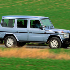 Mercedes-Benz G 350 Turbo Lang