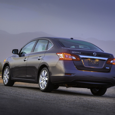 The car has new Altima-like styling