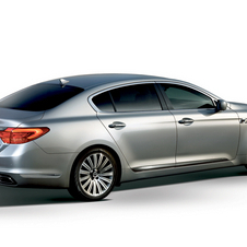 The flagship sedan comes with LED headlights and blind spot detection