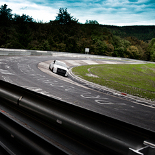 Cadillac ATS Testing at the Nuerburgring