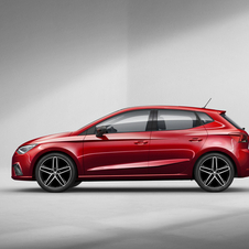 Compared to the previous Seat Ibiza, the new generation is 87mm wider, 2mm shorter and 1mm lower