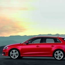 The Sportback adds 35mm to the A3's length
