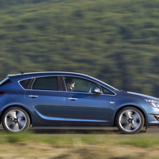 Opel Astra 1.4 Turbo FlexFuel Selection