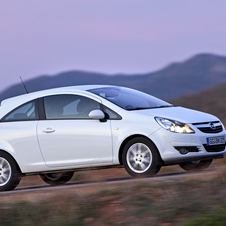 The Corsa 1.3 ecoFlex is the most efficient Opel ever.