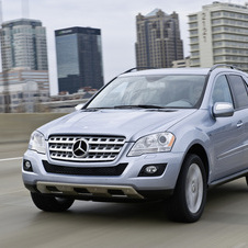 Mercedes-Benz ML 450 CDI Auto.