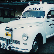 1949 Humber Super Snipe Ambulance Conversion