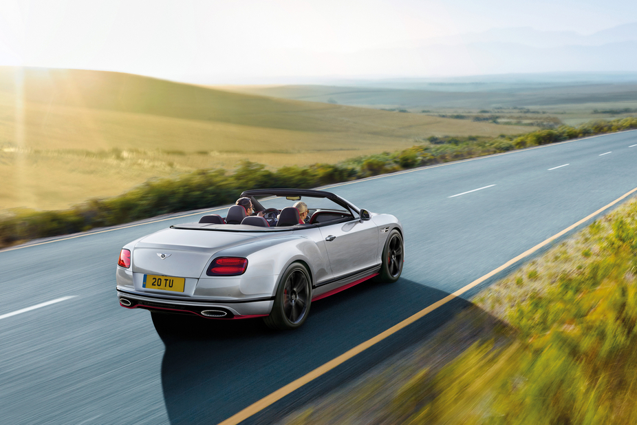 Bentley Continental GT Speed Convertible Black Edition