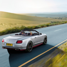 Engineers at Bentley increased the Continental's iconic 6.0-litre twin-turbocharged W12 engine output from 635hp to 642hp