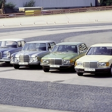 Mercedes tends to use one basic design for the S-Class for decades at a time