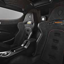 The interior gets a sporty look