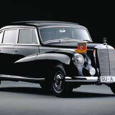 The 300 existed alongside the S-Class early on as an even higher spec car to take on Rolls-Royce