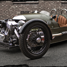 The 3 Wheeler is responsible for about half of Morgan's sales