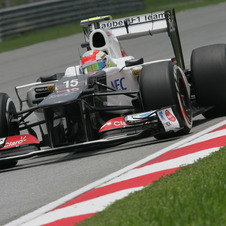 Sauber and Perez Happy with Malaysia but Want to Keep Improving