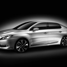 The DS 5LS is Citroën's Chinese market luxury sedan based on the DS5