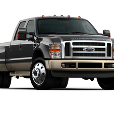 Ford F-Series Super Duty F-350 158-in. WB Lariat Styleside SRW SuperCab 4x2