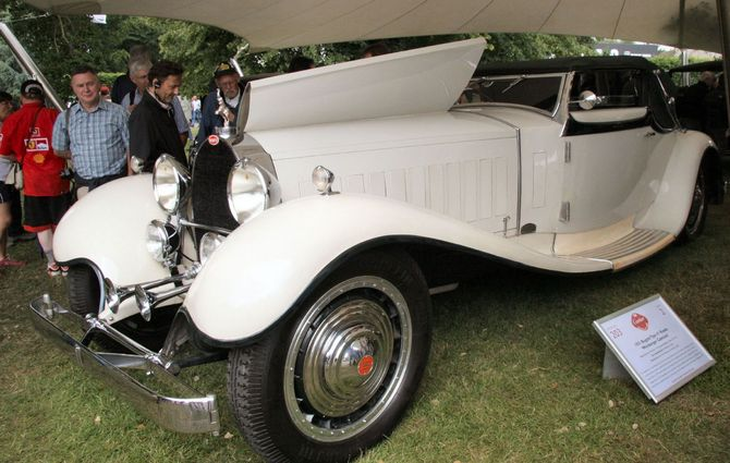 Bugatti Type 41 Royale - Cabriolet Weinberger
