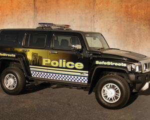 H3 Police Vehicle