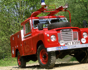 Series III 109 Truck Cab Fire