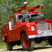 Land Rover Series III 109 Truck Cab Fire
