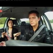Holland\'s worst driver contestant  runs down TV host