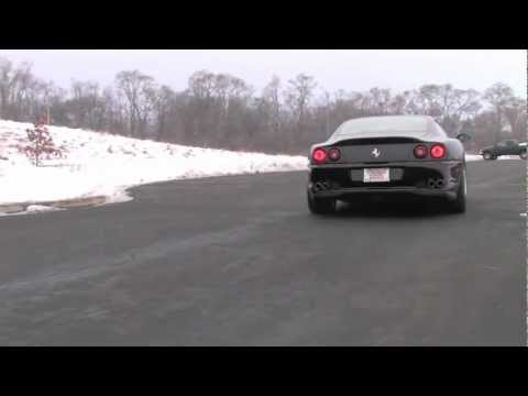 Ferrari 550 Maranello--Video Test Drive with Chris Moran